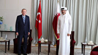 Cumhurbaşkanı Recep Tayyip Erdoğan Katar'a geldi