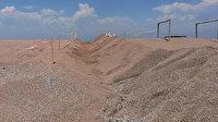 Caretta carettaların yuvaları sorumsuzca talan edildi belediye hendek kazıp korumaya aldı