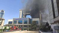 Bayrampaşa Mehmet Akif Ersoy Kültür Merkezi ve Nikah Salonunu'nda yangın paniği