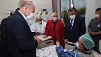 Bakanlar, Sakarya'daki patlamada yaralanan çalışanları dinledi