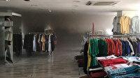 Bilecik'te bir alışveriş merkezinde yangın çıktı: Binadaki vatandaşlar tahliye edildi