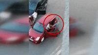 Trafikte tartıştığı kişilere silah çekip darp etti