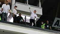 Denizlispor Başkanı Ali Çetin çılgına döndü: Sumudica'ya su şişesi fırlattı