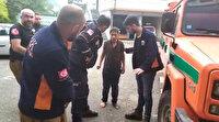 Rize'de kaybolan çocuk 12 kilometre uzaklıkta bulundu: İlçe merkezine doğru yürüyordu