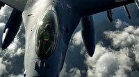 Milli Savunma Bakanlığı tanker uçakların görüntülerini paylaştı