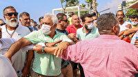 Hem suçlu hem güçlüler: Locaları aykırı kurmalarına rağmen belediye ekiplerine saldırdılar