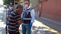 Konya'da maskesiz polise yakalandı: Ceza kesilince kendisini tokatladı
