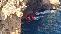 Antalya'da 40 metrelik falezlerden denize atlayan Rus hayatını kaybetti