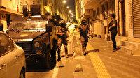 İstanbul'da çok sayıda adrese eş zamanlı terör operasyonu