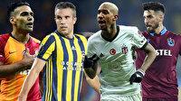 'Dört Büyükler'in 'yabancı transfer' raporu: 5 sezonda 158 futbolcu