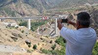 Türkiye'nin en uzun orta açıklıklı Beğendik (Botan) Köprüsü ulaşıma açıldı