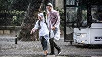 Meteoroloji'den 5 bölge için kuvvetli yağış ve rüzgar uyarısı: Sel ve fırtınaya karşı dikkat