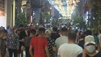 Hafta sonu İstiklal Caddesi koronavirüs dinlemiyor