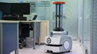 Milli robot RoboCare, koronavirüsle mücadele eden ülkelere nefes oluyor
