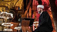 Ayasofya'nın ilk imamı Ferruh Muştuer'in sesinden 'Ayasofya'da Fetih Suresi'