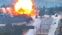 M4 karayolunda gerçekleştirilen Türk-Rus araçlarının devriyesi sırasında bombalı saldırı: 3 Rus askeri yaralandı