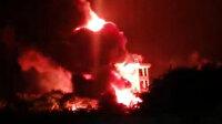 İlaç fabrikasında dev yangın