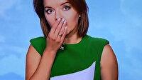 Ukrayna televizyon kanalında talihsiz an: Haber spikerinin ön dişi canlı yayında düştü