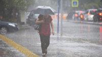 Meteorolojiden 10 ile sağanak yağış uyarısı