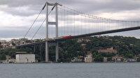 15 Temmuz Şehitler Köprüsü'ne dev Türk bayrakları asıldı