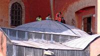 Ayasofya'da ilk namaz için geri sayım: Hummalı çalışmalar böyle görüntülendi