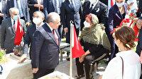 TBMM Başkanı Mustafa Şentop Karşıyaka Mezarlığı 15 Temmuz Demokrasi Şehitliğini ziyaret etti