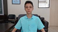 2020 LGS'de tam puan alan Ali Fuad Erkan mühendis olmak istiyor