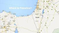 Google'ın haritalardan Filistin'i silmesi tepki topluyor