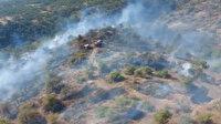 Gaziantep'te orman yangını: 2 hektarlık kızılçam ormanı zarar gördü