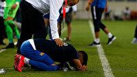 Küme düşen Ankaragücü'nde futbolcular gözyaşlarına hakim olamadı