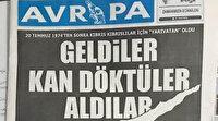 Bir değil iki değil: Kıbrıs'taki Avrupa gazetesi Türkiye'yi tahrik etmeye devam ediyor