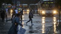 Meteorolojiden İstanbul ve bazı illere sağanak yağış uyarısı