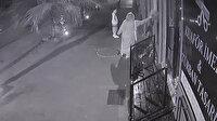 Çocuklarının gözü önünde hırsızlık yapan kadın kamerada