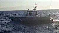 Küfür edip ateş açtılar: Yunan botlarının Türk balıkçıları taciz ettiği anlar kamerada