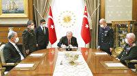 Komuta değişmedi: Yüksek Askeri Şura, Erdoğan başkanlığında toplandı