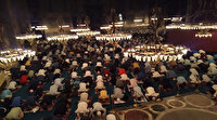 Ayasofya Camii'nde ikinci sabah namazı yoğunluğu
