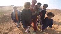 Türk askeri karavanasını çocuklarla paylaştı