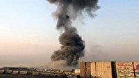 Irak'ta bir askeri üsse füze atıldı diğerinde patlama yaşandı