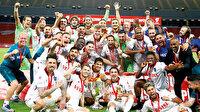 Kupa Trabzonspor'un: Bordo mavililer Türkiye Kupası'nı 9.kez müzesini götürdü