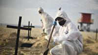 Koronavirüs nedeniyle son 24 saatte Brezilya'da bin 595, Meksika'da 485, Hindistan'da 775 kişi öldü