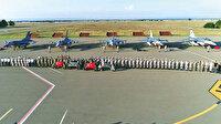 F-16'lar Azerbaycan'da: Jetlerimiz böyle geldi