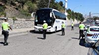 Ankara'da bir saatte 54 araca 46 bin 162 lira hız cezası