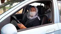 Azmin zaferi: 64'lük Zeynep ehliyetini aldı şimdi tüm yollar onun