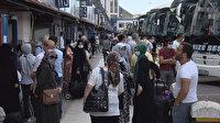 Tatilciler dönüyor: 15 Temmuz Otogarı'nda yoğunluk