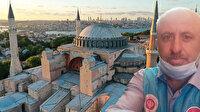 Ayasofya Camii'nde görevli müezzin Osman Aslan kalp krizi geçirerek hayatını kaybetti