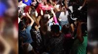 Düğün eğlencesi değil koronavirüse davet partisi: Ne sosyal mesafe tanıdılar ne de maske taktılar