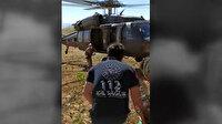 Tunceli'de fenalaşan çobanın yardımına Mehmetçik helikopterle yetişti