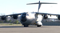Türkiye'den Lübnan'a yardım eli: Malzemeler kargo uçağına yüklendi
