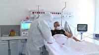 İstanbul'daki pandemi hastanesinin yoğun bakım ünitesi ilk kez görüntülendi