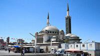 Taksim'e yapılan caminin yüzde 65'i tamamlandı